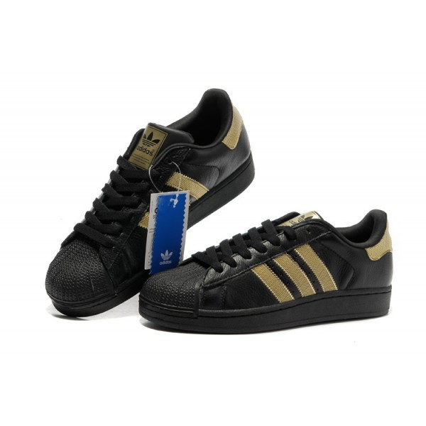 taille 40 44e83 8400f adidas noir dore femme